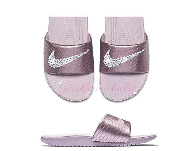 Custom Nike Slides | The Best Bling on Feet