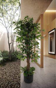 best faux fiddle leaf fig tree